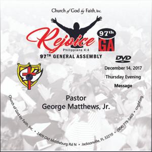 97 GA: Rejoice - Matthews (DVD)