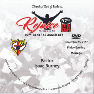 97 GA: Rejoice - Elder Burney (DVD)