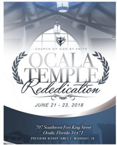 Ocala Temple Re-dedication Book