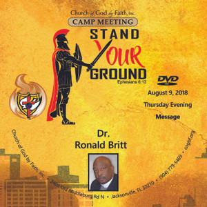 2018 Camp Meeting: Stand your Ground - Britt (DVD)