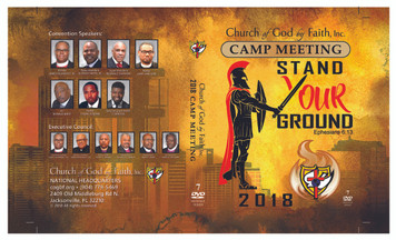 2018 Camp Meeting: Stand Your Ground (DVD Set)