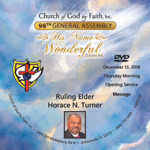 98 GA: Ruling Elder Horace N. Turner (DVD)