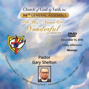 98 GA: Pastor Gary Shelton (DVD)