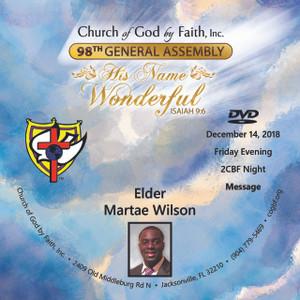 98 GA: Elder Martae Wilson (DVD)