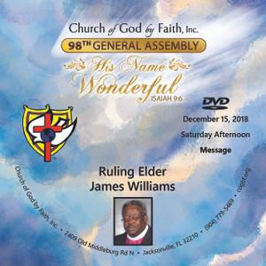 98 GA: Ruling Elder James Williams  (DVD)