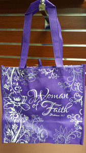 Totebag (purple/white)