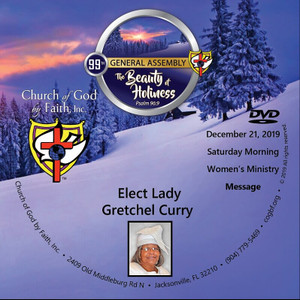 2019 Beauty of Holiness - Lady Curry