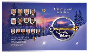 2019 Beauty of Holiness - DVD Set