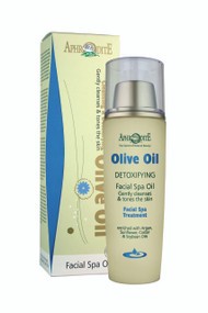 """Our unique spa oil can be used both as a detoxifying therapy and as a mild cleanser for sensitive or mature skin. Perfect for use in the """"Oil Cleansing Method"""". Excellent for the sensitive around the eye area   Made with Argan oil, Sunflower, Castor and Soybean oils"""