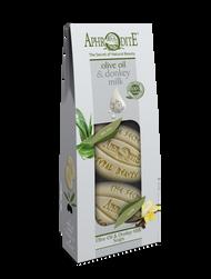 Olive Oil & Donkey Milk Moisture 2 Pack
