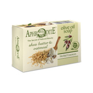Enriched with emollient shea butter and exfoliating oatmeal for those who love herbal non-scented soaps