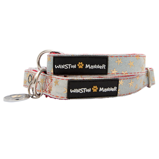Starry Night Dog Collar