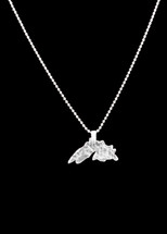 Lake Superior Necklace - Silver