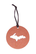 Upper Peninsula Disk Ornament