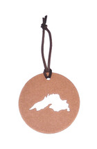 Lake Superior Copper Disk Ornament