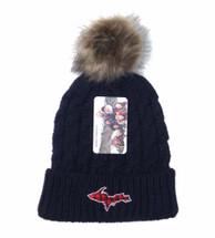 Plaid U.P. Winter Hat - Navy
