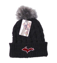 Plaid U.P. Winter Hat - Charcoal