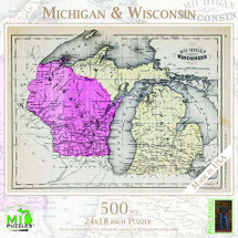 Michigan & Wisconsin Puzzle