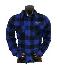 Buffalo Plaid U.P. Shirt - Black/Blue