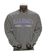 Calumet Copper Kings Crew - Gray