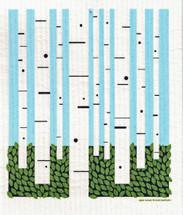 Birch Forest Swedish Dishcloth - CN218.72