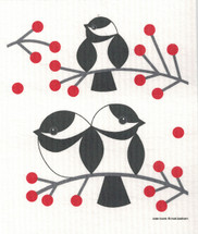 Chickadees Swedish Dishcloth - CN218.70