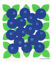 Blueberries Swedish Dishcloth - CN219.42