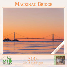 Mackinac Bridge Winter Puzzle