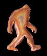 Copper Bigfoot Wall Hanging