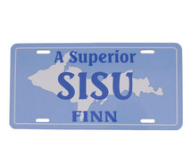 Superior SISU Finn License Plate