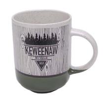 Keweenaw Woodgrain Mug - Garden