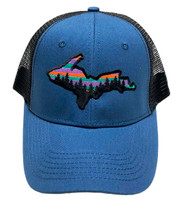 ROAMER: UP Colorful Sky Ball Cap - Sapphire/Black