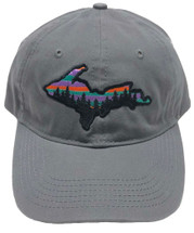 PIONEER: Colorful Sky UP Ball Cap - Charcoal