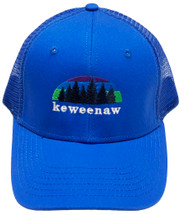 ROAMER: Keweenaw Northern Lights Ball Cap - Royal