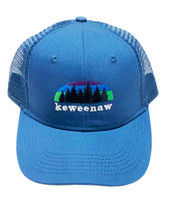 ROAMER: Keweenaw Northern Lights Ball Cap - Sapphire