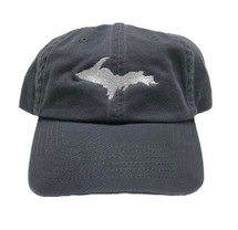 Up Ball Cap - Charcoal Grey/Silver