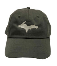 UP Ball Cap - Olive/Silver