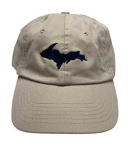UP Ball Cap - Oatmeal/Navy