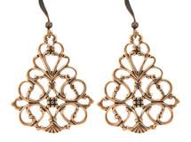 Copper Earrings - 065