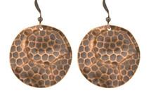 Copper Earrings - 063