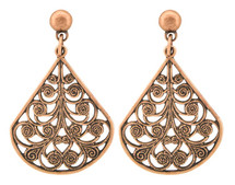 Copper Earrings - 051