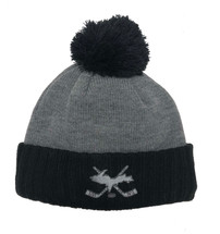 Grey & Black Hockey Sticks UP Hat