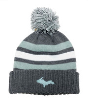 WHISTLER: Grey, Teal, & White UP Hat