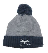 Grey & Navy Hockey Sticks UP Hat