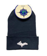 Newborn UP Hat - Navy