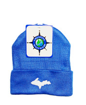 Newborn UP Hat - Blue