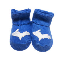 Newborn UP Booties - Royal Blue