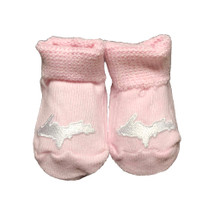 Newborn UP Booties - Pink