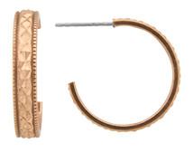 Copper Earrings - 085