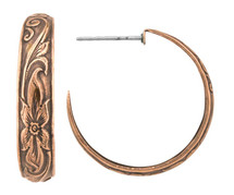 Copper Earrings - 080